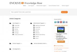 Evolve IP Knowledge Base