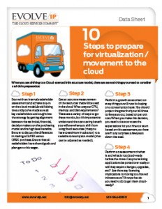 10 Steps to Prepare for Virtualization - Cover