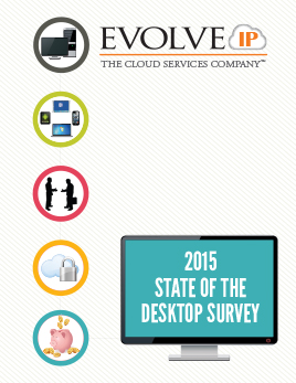 2015 State of the Desktop Survey - cover