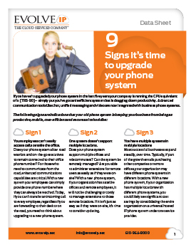 9 Signs its time to upgrade your phone system