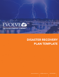 Disaster Recovery Template A Blueprint for Recovery