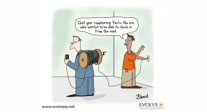 IP Phone Systems Comics by Evolve IP