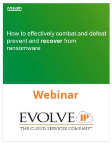 Ransomware is Dead with proactive backup and disaster recovery solutions