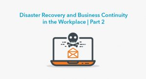 Preparation for IT Disaster Recovery
