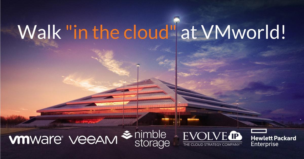 Walk -in the cloud- at VMworld - new