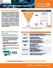 Alert Logic® Log Manager and Log Review Page 2
