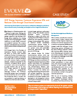 HOP Case Study Evolve IP