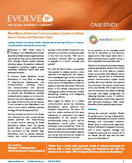 Case Study Marshberry Evolve IP