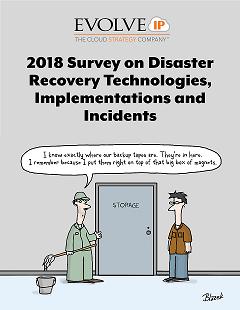 2018 DRaaS Survey