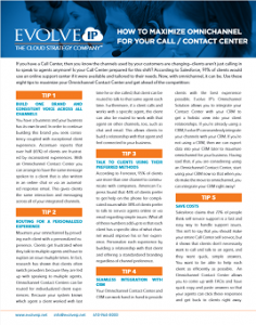 How to Maximize Omnichannel for Your Call Center