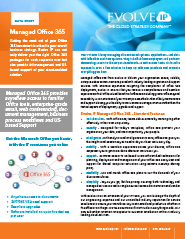 Data Sheet- Managed Office 365-1