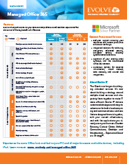 Data Sheet- Managed Office 365-2