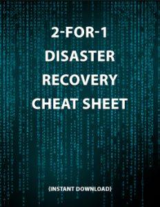 Disaster Recovery Cheat Sheet Thumbnail