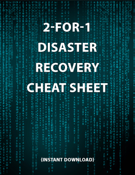 Disaster Recovery Cheat Sheet Thumbnail
