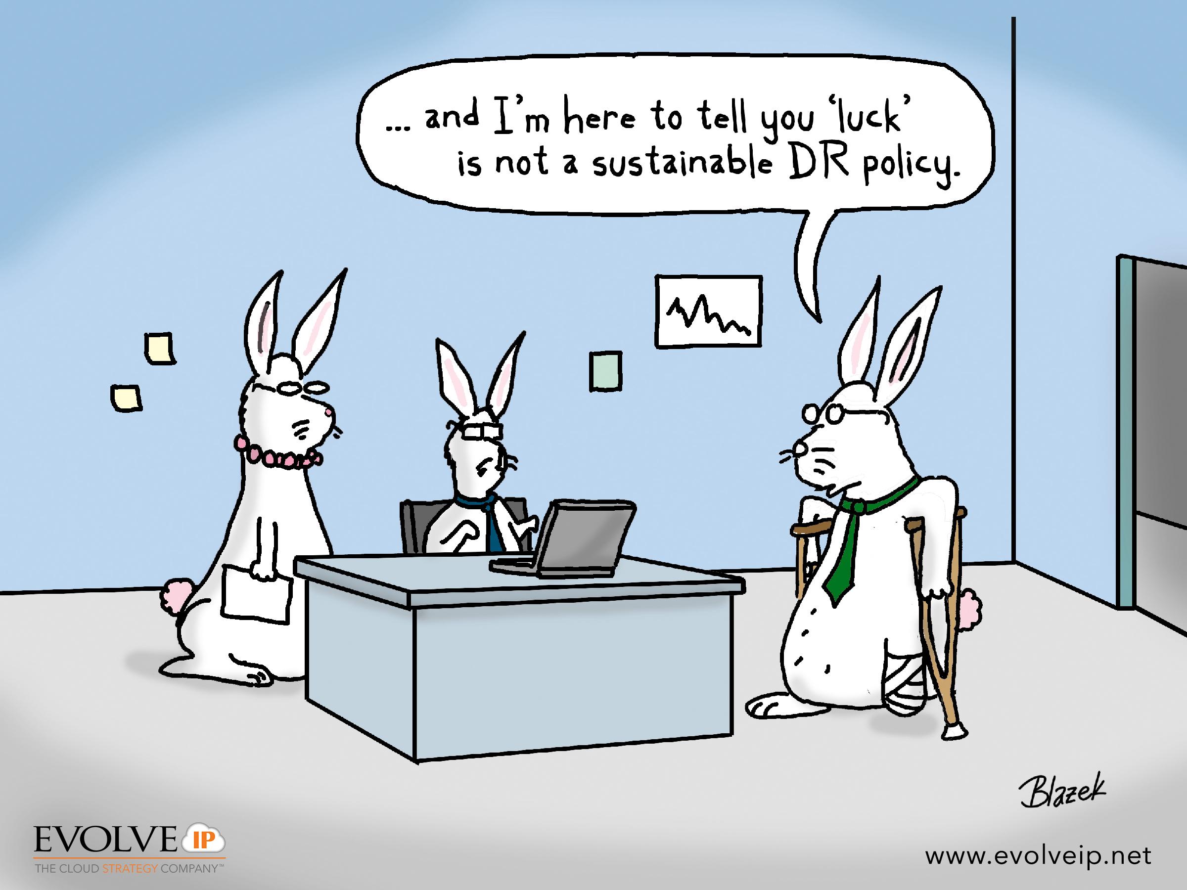 Comic - DR Lucky Bunnies