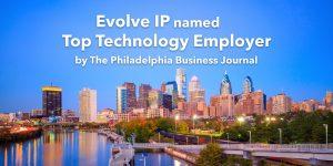Evolve IP Top Tech Employer PBJ