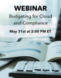 Webinar Budgeting for Cloud and Compliance Thumbnail