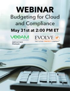 Webinar Budgeting for Cloud and Compliance