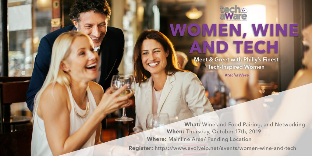 TechaWare Women Wine Tech Event