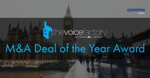 M&A Deal of the Year Award