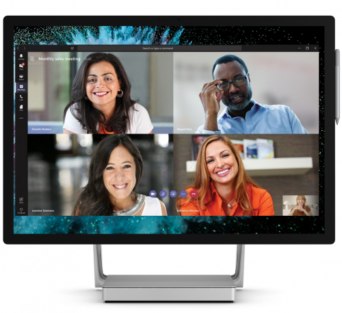 Evolve IP Microsoft Teams Conference Call