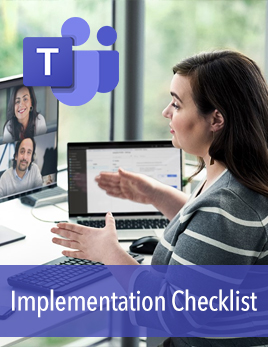Microsoft Teams and Voice Implementation Checklist